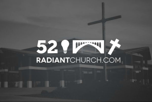 radiant church: digital sign