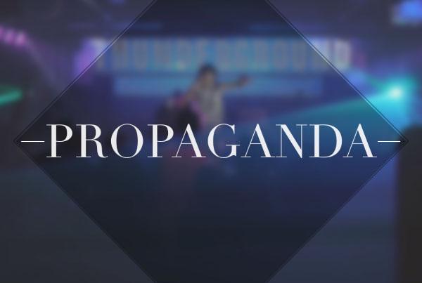 propaganda: live at GCU