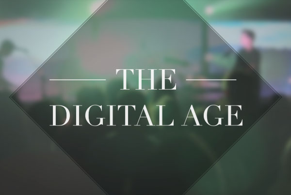the digital age: live at GCU