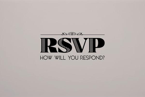 RSVP // sermon series promo